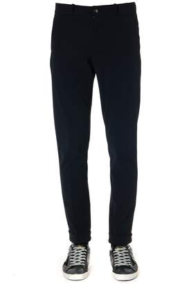 Rrd Roberto Ricci Design RRD - Roberto Ricci Design Black Pants In Technical Fabric