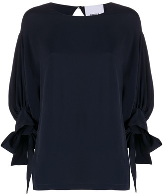 Erika Cavallini Three-Quarter Sleeve Shift Top