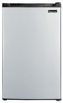 Magic Chef 4.4 Cubic Feet Refrigerator with Full-Width Freezer Compartment with Door