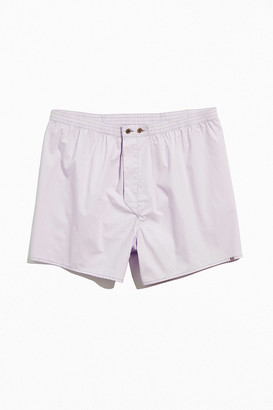BDG Solid Woven Boxer Short