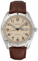 Seiko Men's Core Leather Automatic Watch