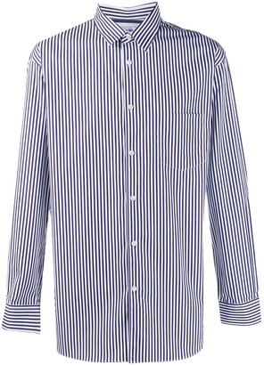 Comme des Garçons Shirt Striped Long-Sleeve Shirt
