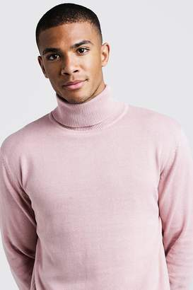 boohoo Long Sleeve Roll Neck Jumper