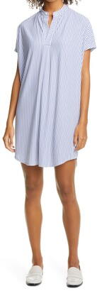 Club Monaco Stripe Shirtdress