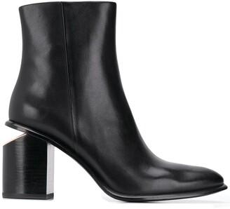 Alexander Wang cut out heel boots