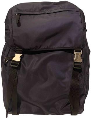 Prada Navy Cloth Bags