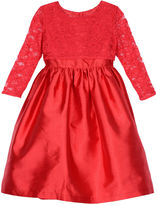 Marmellata Elbow Sleeve Party Dress - Big Kid