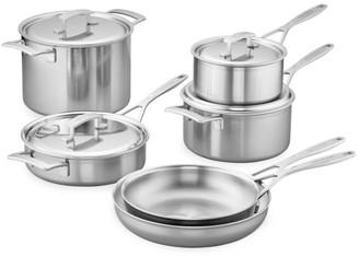 Demeyere Ten-Piece Stainless Steel Cookware Set