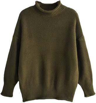 Goodnight Macaroon 'Arby' Rolled Edge Oversized Sweater (3 Colors)
