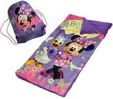 Disney Minnie Mouse Slumber Set/Nap Mat with BONUS Sling Bag by