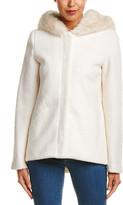 Laundry by Shelli Segal Wool-Blend Short Coat