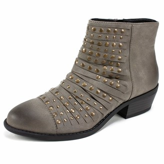 White Mountain Shoes Desire Women's Boot Stone/Sueded/FAB 11 M