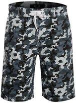 APTRO Men's board shorts swimwear Camouflage Patterned Shorts 1707 L