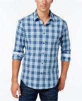 HUGO BOSS Green Men's Briar Plaid Shirt