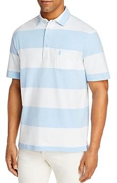 johnnie-O Parker Cotton-Blend Striped Polo