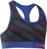 Under Armour HeatGear Printed Sports Bra, Big Girls (7-16)
