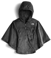 The North Face 'Oso' Fleece Hooded Poncho (Little Girls & Big Girls)