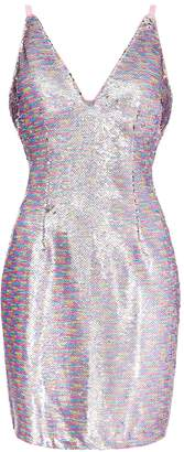 Aidan Mattox Sequin Cocktail Dress