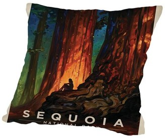 "K&C East Urban Home KC NP Sequoia Throw Pillow East Urban Home Size: 14"" H x 14"" W x 2"" D"