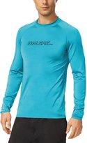 Baleaf Men's Long Sleeve Surf Shirt Rashguard Swim Tee UPF 50+ Size S