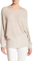 Joie Anissa Ribbed Knit Hi-Lo Hem Cashmere Sweater