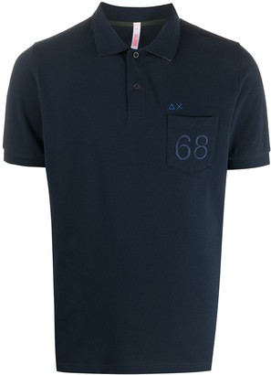 Sun 68 68 Logo Polo Shirt