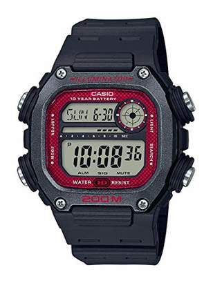 Casio 10 Year Battery Quartz Watch with Resin Strap
