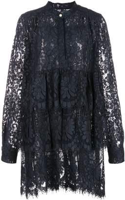 ADAM by Adam Lippes lace ruffled dress