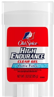 Old Spice Anti-perspirant High Endurance Clear Gel