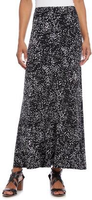 Karen Kane Abstract Dot A-Line Skirt