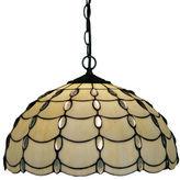 AMORA Amora Lighting AM1042HL16 Tiffany Style Cascade Pendant Lamp 16-Inch