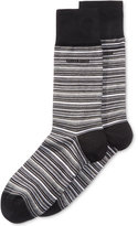 HUGO BOSS Men's Variegated Stripe Socks