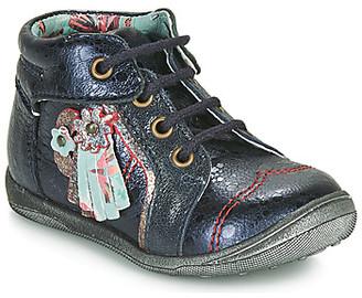 Catimini RAINETTE girls's Mid Boots in Blue