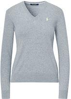 Ralph Lauren Golf Cotton V-Neck Sweater