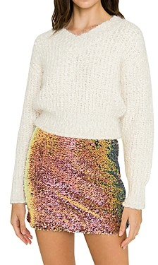 Endless Rose Ribbed Sweater