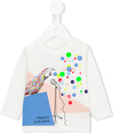 Stella McCartney Parrot Karaoke sweatshirt - kids - Cotton - 6 mth