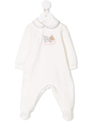 Il Gufo Teddy Bear Embroidered Pajamas