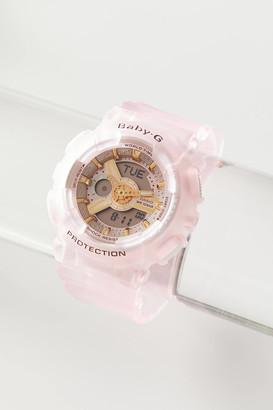 Casio BABY-G Pink Resin Analog-Digital Watch