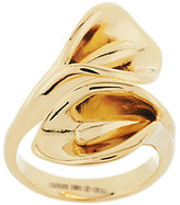 CALLA Steel by Design Stainless Steel Lily Wrap Design Ring