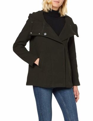 Only Women's Onlmaddie Rianna Hooded Wool Coat Cc OTW