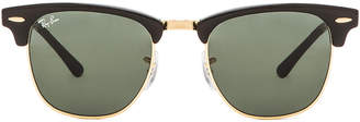 Ray-Ban Clubmaster Classic Sunglasses in Black | FWRD