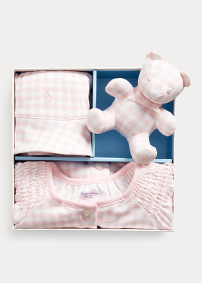 Ralph Lauren Gingham Cotton Gift Set