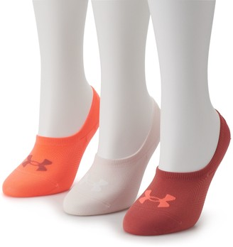 Under Armour Women's 3-pk. Essential Ultra Low-Cut Liner Socks