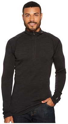 Smartwool NTS Mid 250 Zip T Top (Charcoal) Men's Long Sleeve Pullover