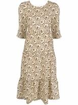 Thumbnail for your product : BA&SH Gabie floral-print dress
