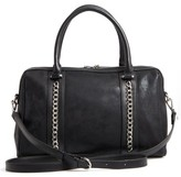 Chelsea28 Karlie Faux Leather Satchel - Black