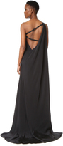 Kaufman Franco KAUFMANFRANCO One Shoulder Gown
