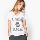 Best Mountain 'Tu Me Fais Craquer' Slogan T-Shirt