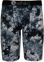 Ethika Men's Black Grey Tye Dye The Staple Fit Boxer Briefs Underwear-2XL