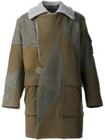Christopher Raeburn 'Motorcycle' coat - men - Cotton/Wool - L
